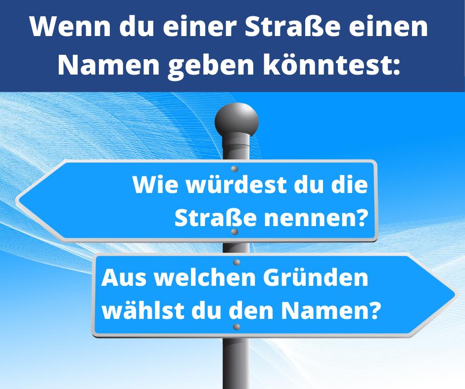 Straßennamen in Erfurt